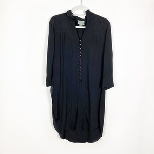 Maeve Button Down Tunic Top